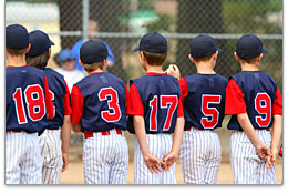 Youth Baseball in Cooperstown Image